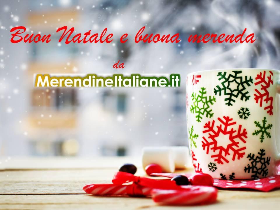 Auguri Natale Merendine